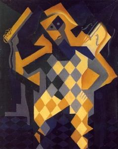 Juan+Gris+-+Harlequin+with+Violin+(1919)+