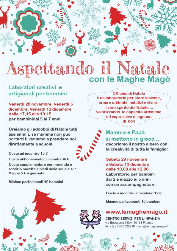 abbastanza Laboratori di Natale per bambini a Firenze ZE35