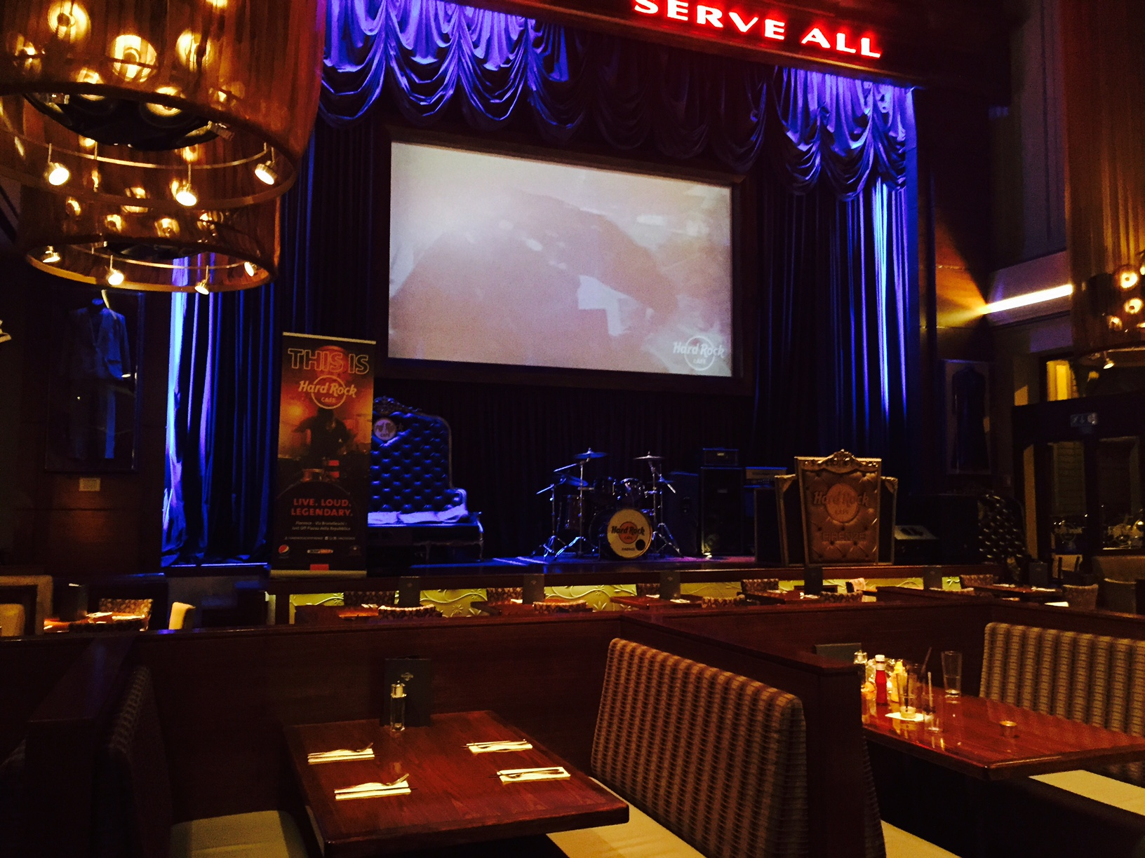 Hard Rock Cafe di Firenze con i bambini