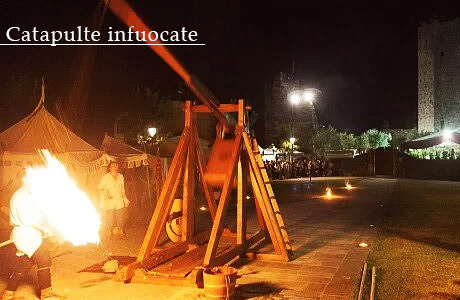 Ponte del 2 giugno da ricordare?  In Toscana la Notte delle Catapulte Infuocate!