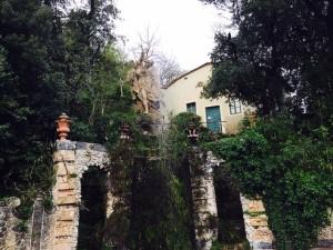 statua storico giardino Garzoni