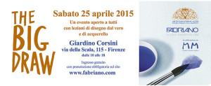the big draw al giardino corsini