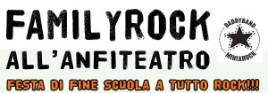 familyrock all'anfiteatro