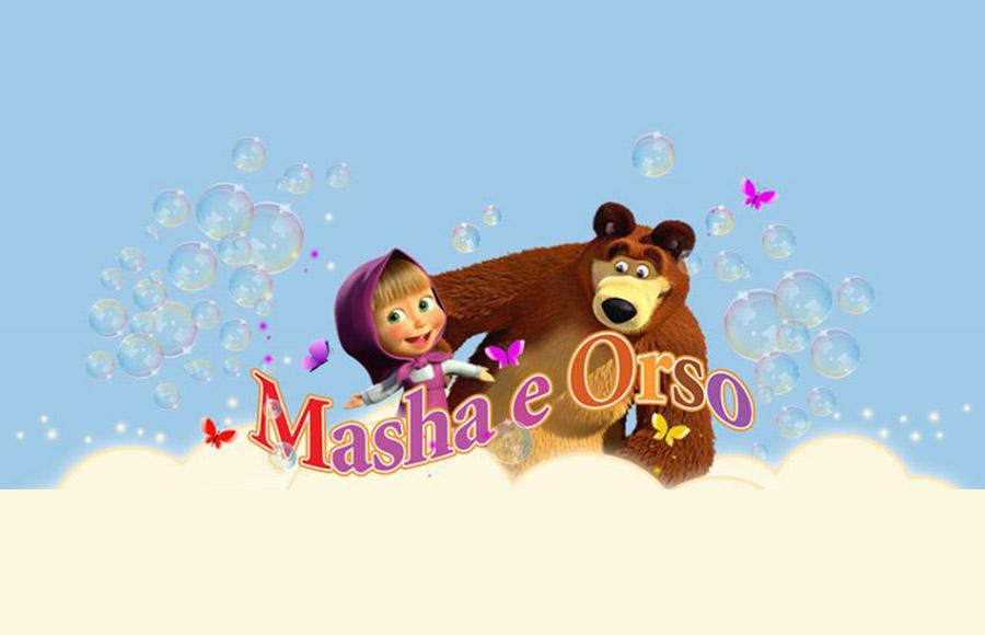 Le nuove avventure di masha e orso for Affittare una cabina grande orso