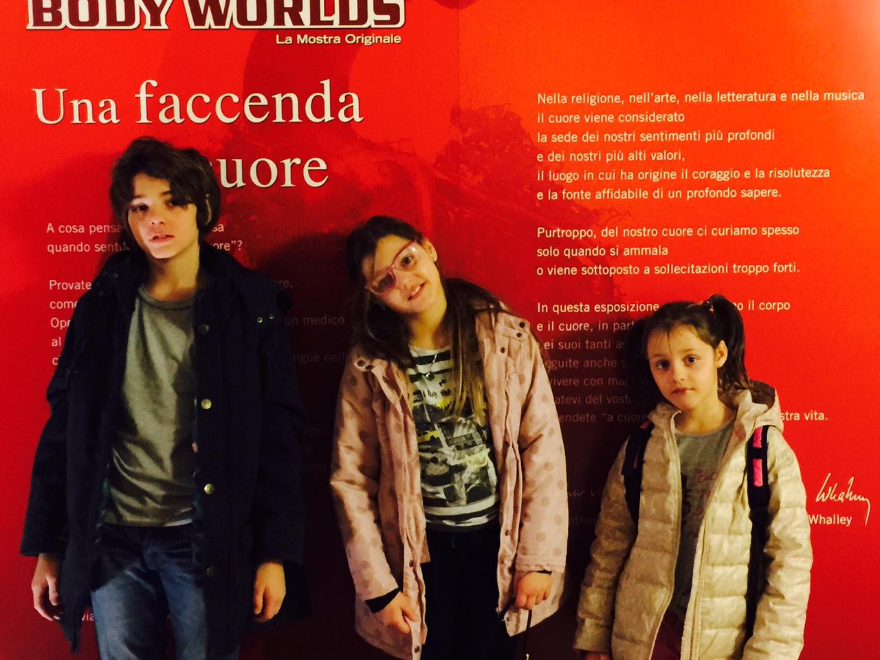 Body Worlds Firenze visita con i bambini