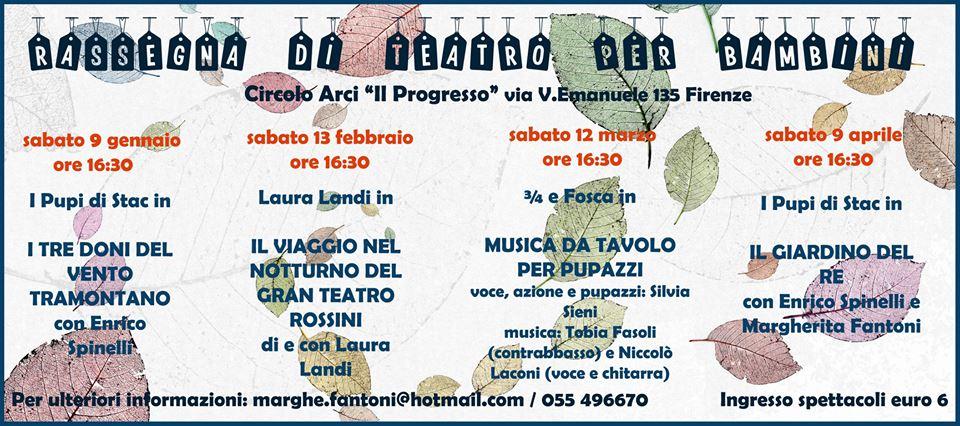 Rassegna di teatro di figura per bambini Firenze