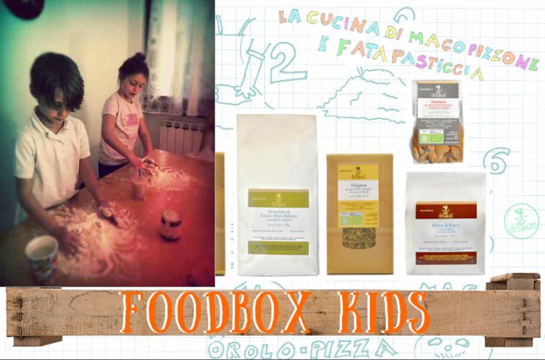 Con il FoodBox per bambini DelSud si cucina, si gioca e il tempo passa