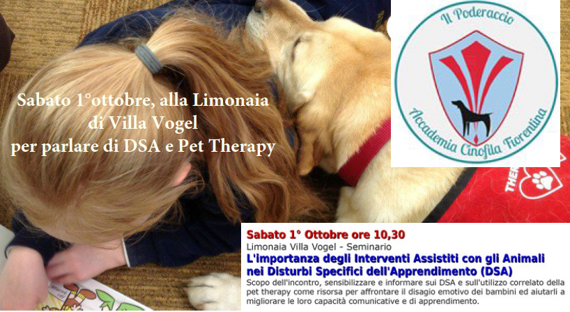 Disturbi dell'apprendimento e Pet Therapy come supporto ai bambini