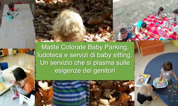 Matite colorate ludoteca e servizi di baby parking per le famiglie