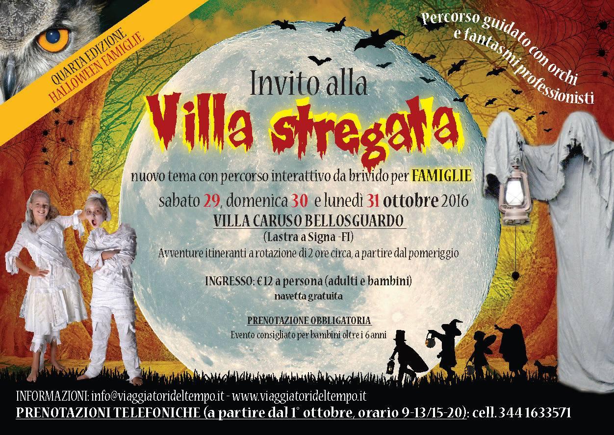 Halloween 2016 a Firenze alla villa stregata in famiglia