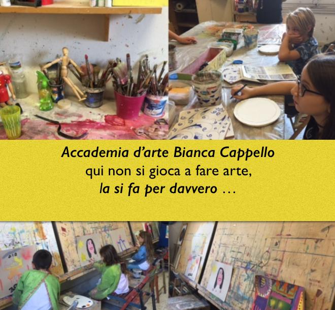 Accademia d'arte Bianca Cappello – scuola di arte per bambini a Firenze