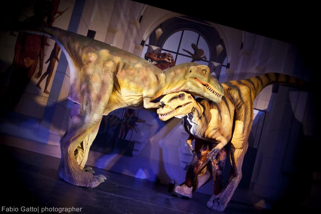 Un incredibile show con i dinosauri a Firenze 4 e 5 febbraio 2017