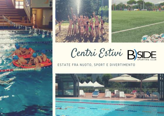 Nuoto, giochi in acqua e tanto sport per i centri estivi B)Side