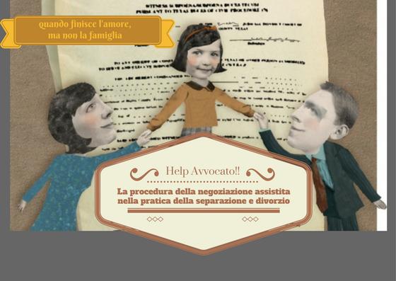 Help Avvocato!! La negoziazione assistita nella pratica della separazione e divorzio