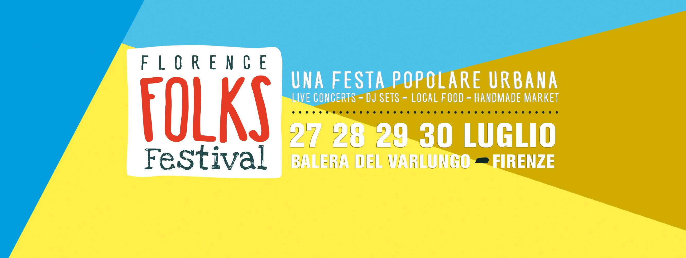 Florence Folk festival Firenze 27 -30 luglio 2017