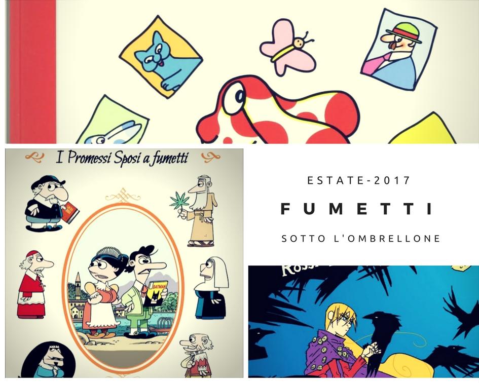 Fumetti per bambini e ragazzi estate 2017