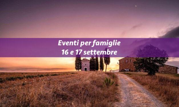 Eventi per famiglie Firenze 16 e 17 settembre 2017