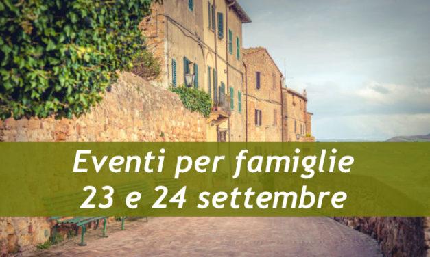 Eventi per famiglie Firenze 23 e 24 settembre 2017