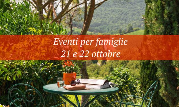 Eventi per famiglie Firenze 21 e 22 ottobre 2017
