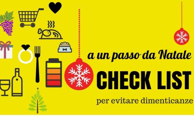 Check list per arrivare preparati a Natale, siete pronti?