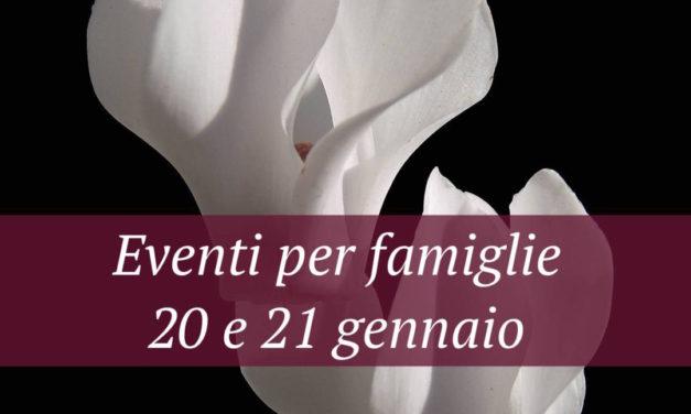 Eventi per famiglie Firenze 20 e 21 gennaio 2018