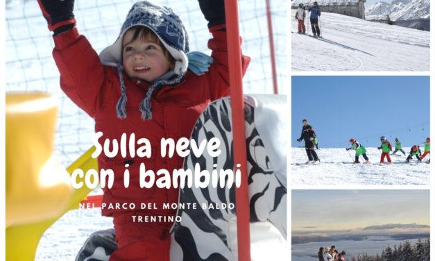 In settimana bianca con i bambini sul Monte Baldo in Vallagarina