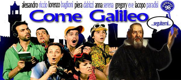 Come Galileo andate e non scordate a casa i bambini