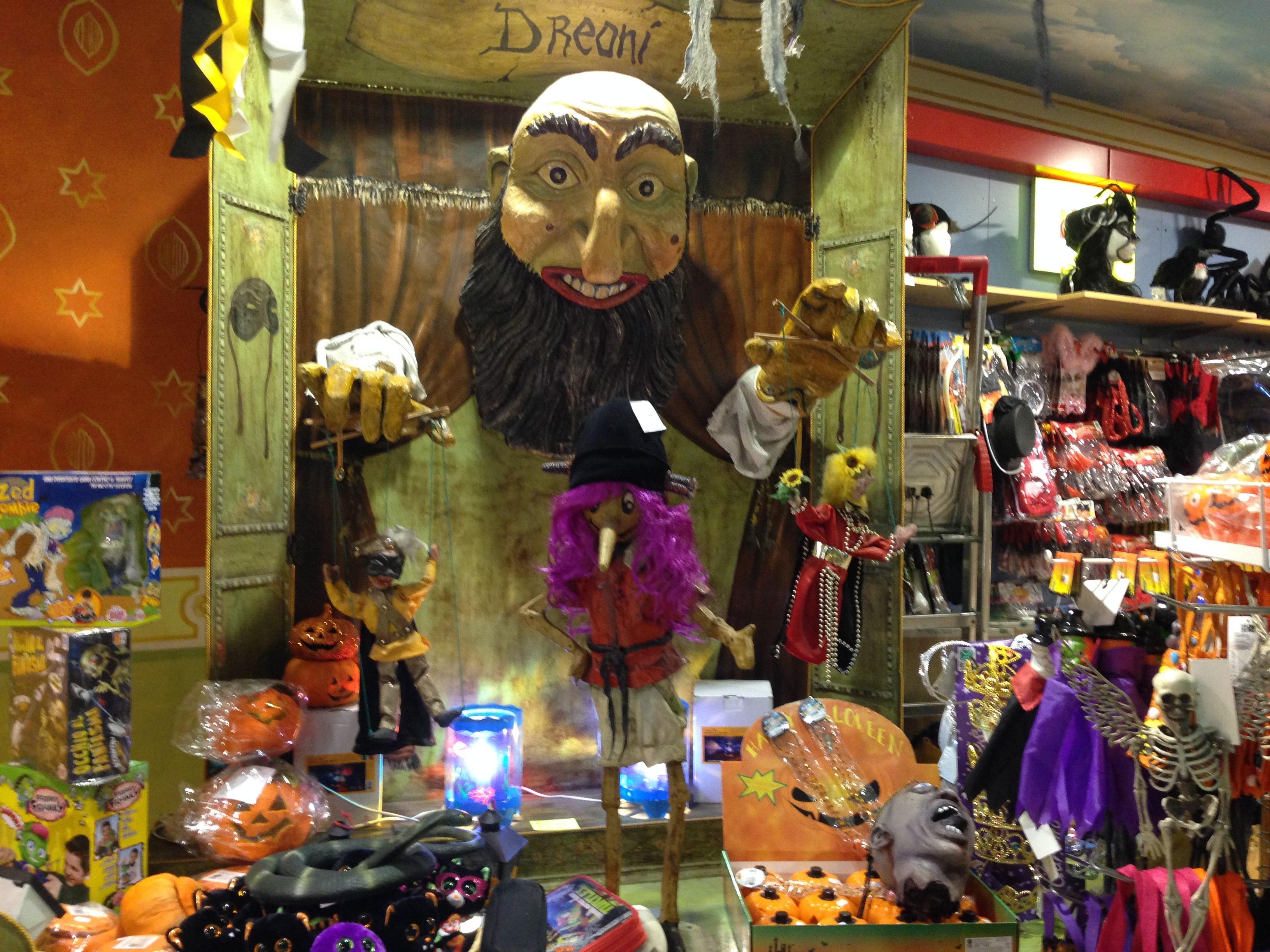 Negozi per halloween Firenze … fate un salto da Dreoni
