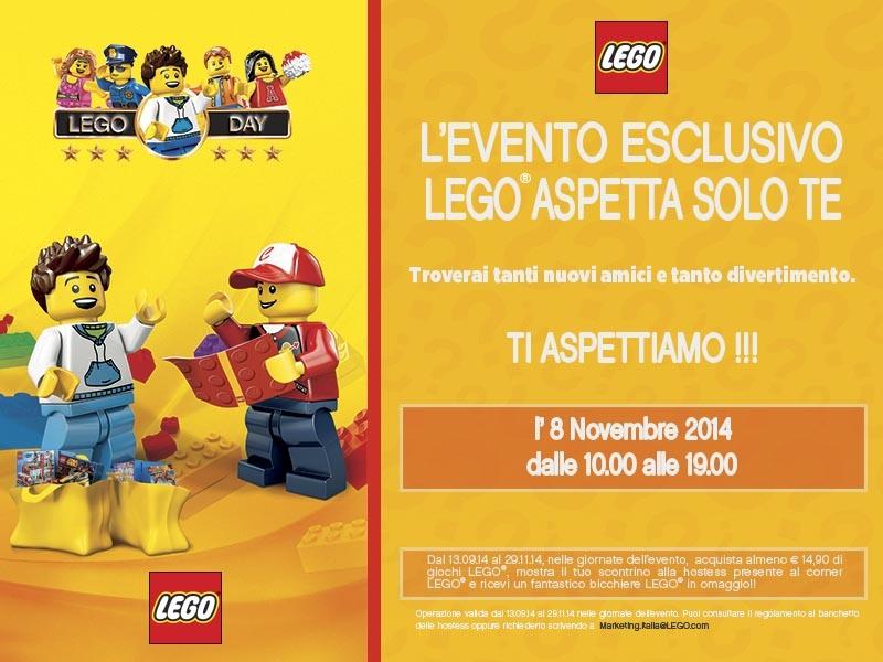Lego Day al negozio Dreoni giocattoli