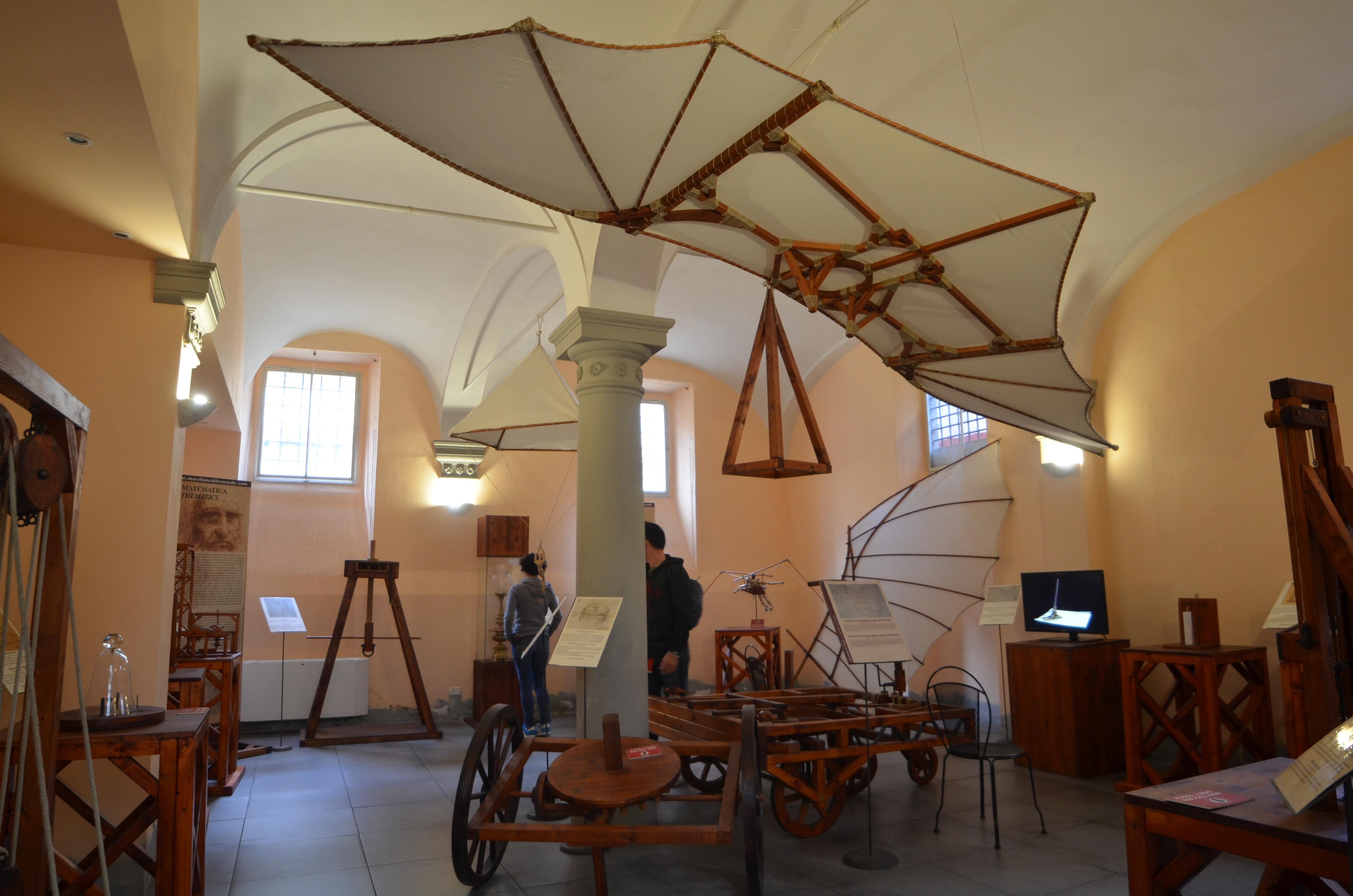 Compleanno al Museo Leonardo da Vinci Firenze