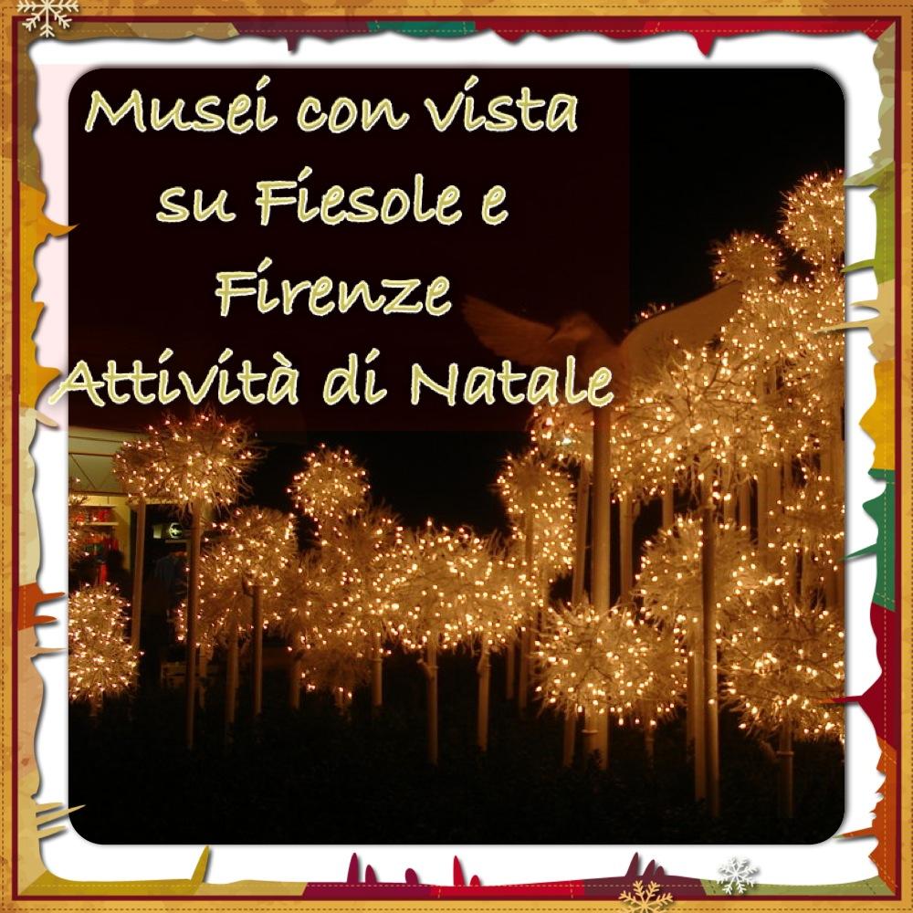 Musei con vista su Fiesole e Firenze Natale 2014