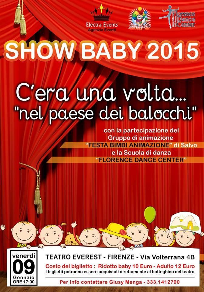 Firenze show baby per famiglie e bambini