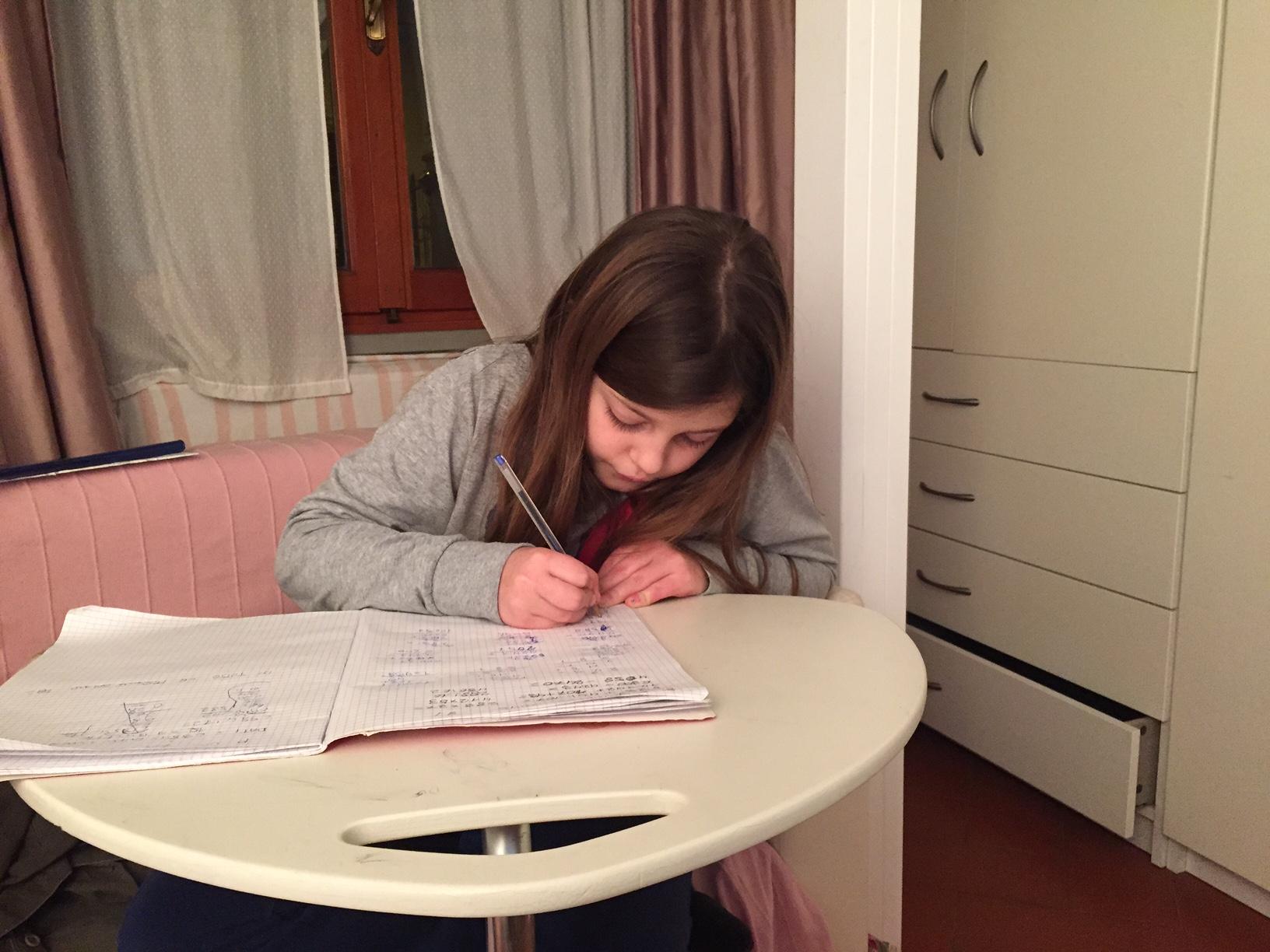 Compiti per casa alle elementari come non impazzire