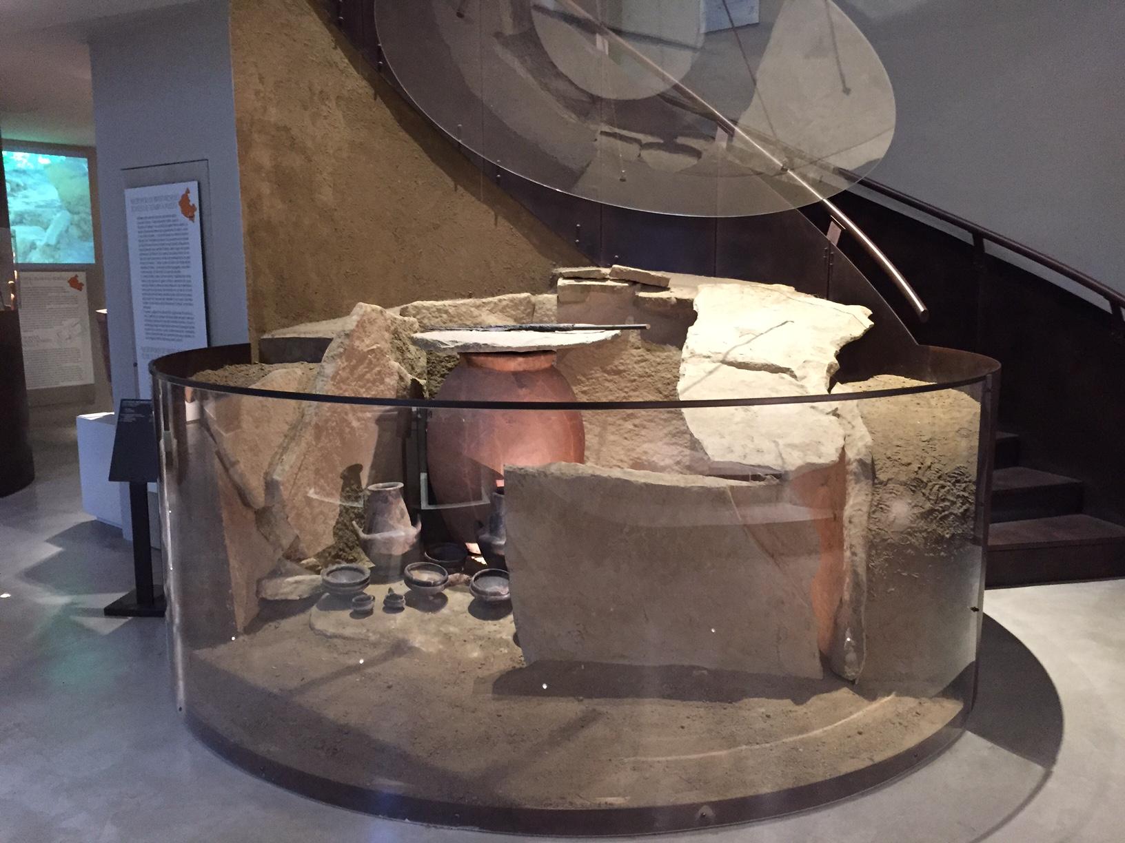Al Museo Archeologico di Artimino con i bimbi