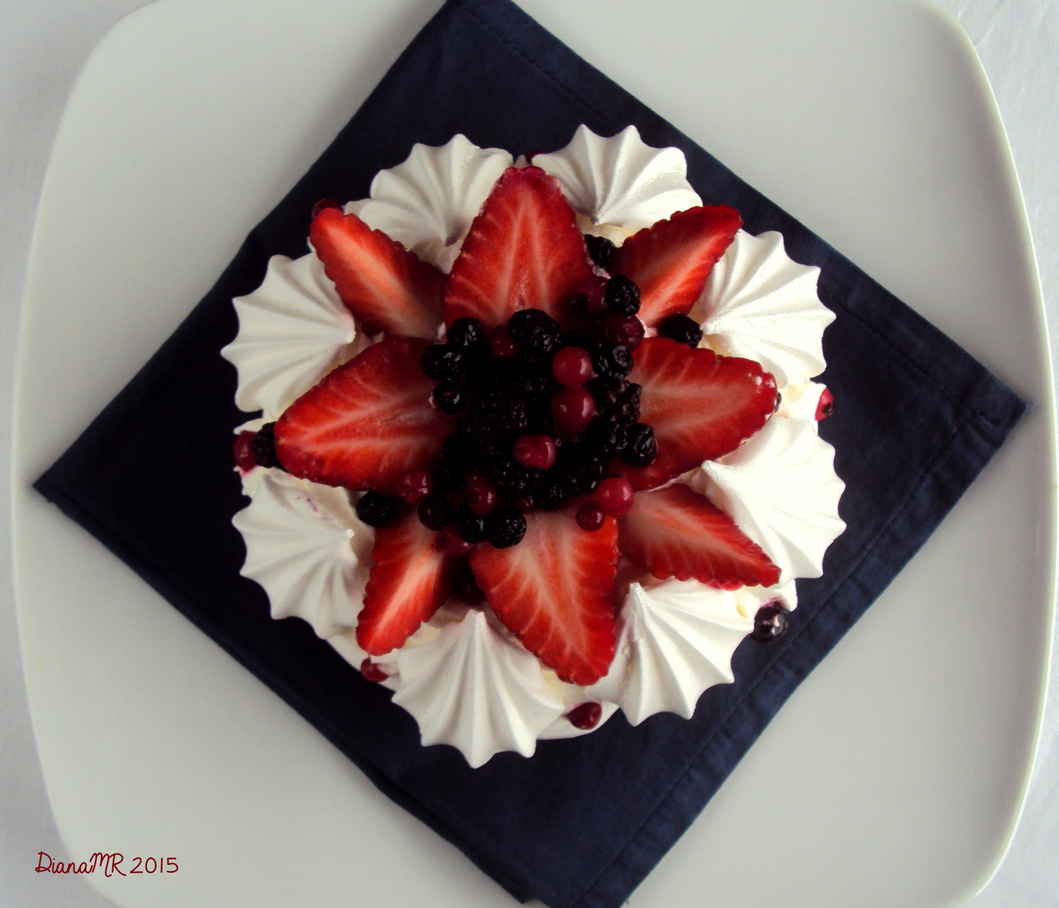 Come si fa la torta Pavlova spiegato da Muffinalmente Firenze