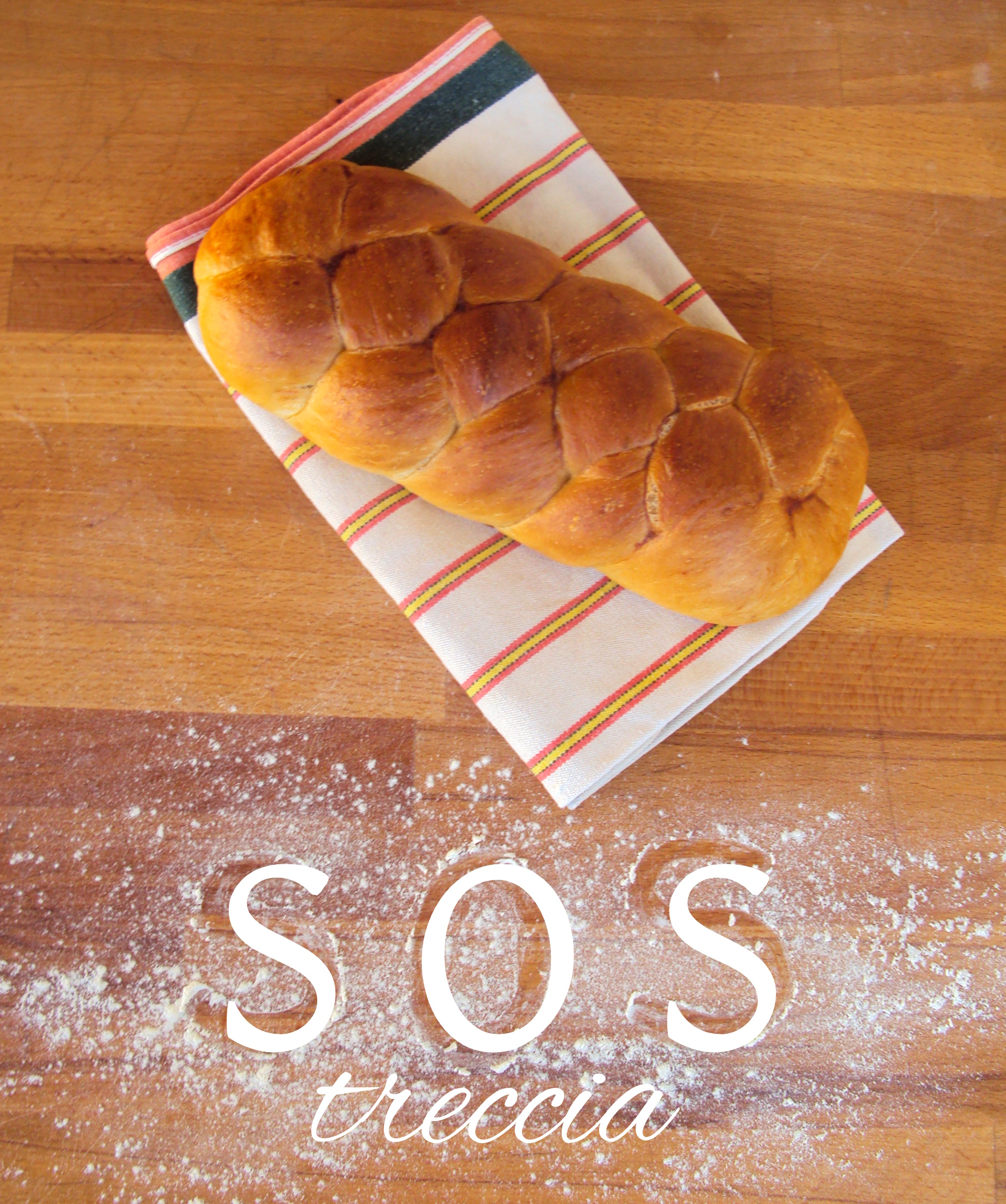 Come impastare il pane a treccia
