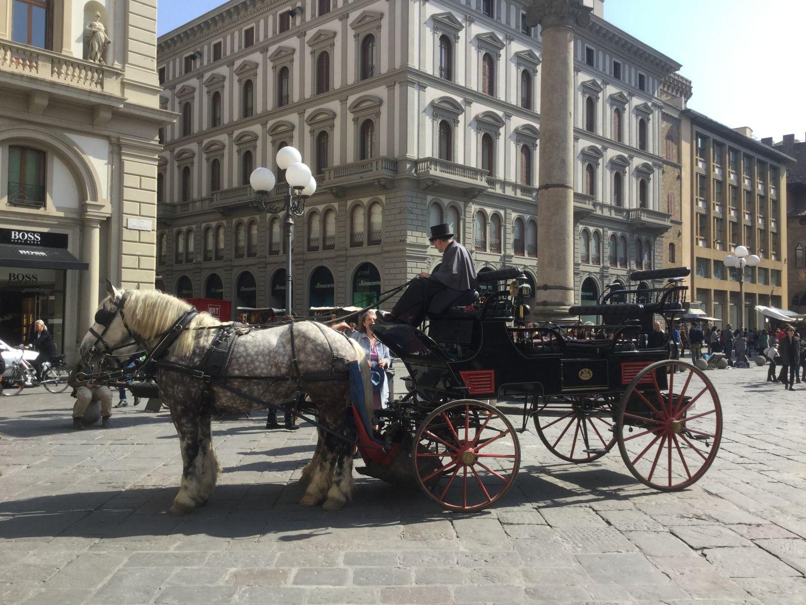 Famiglie in carrozza per scoprire Firenze Capitale