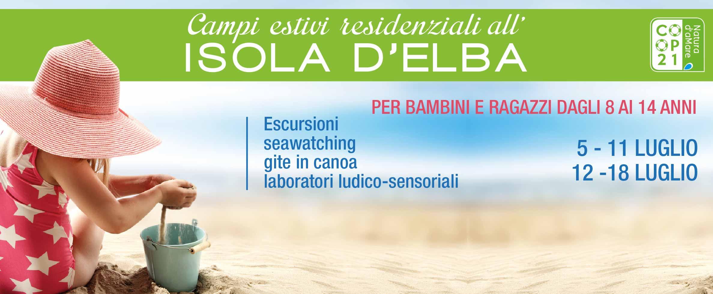Centri estivi residenziali per bambini all'Elba – Bimbi al mare con Coop 21