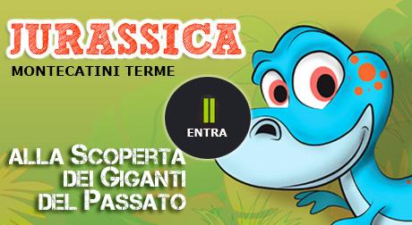 Dinosauri Montecatini Terme, Jurassica la mostra per bambini