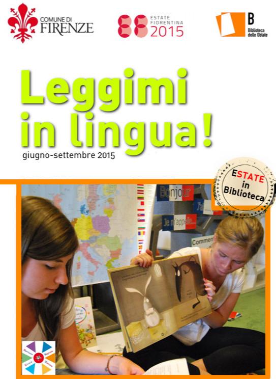 Leggimi in lingua alla Biblioteca delle Oblate