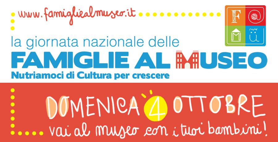 A Firenze famiglie al Museo nella giornata di domenica 4 ottobre