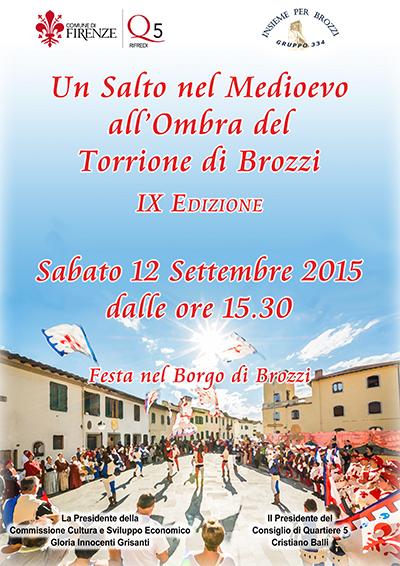 Firenze Brozzi Festa medievale 12 settembre 2015