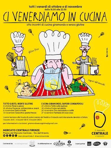 A Firenze genitori a scuola di cucina sostenibile e senza glutine