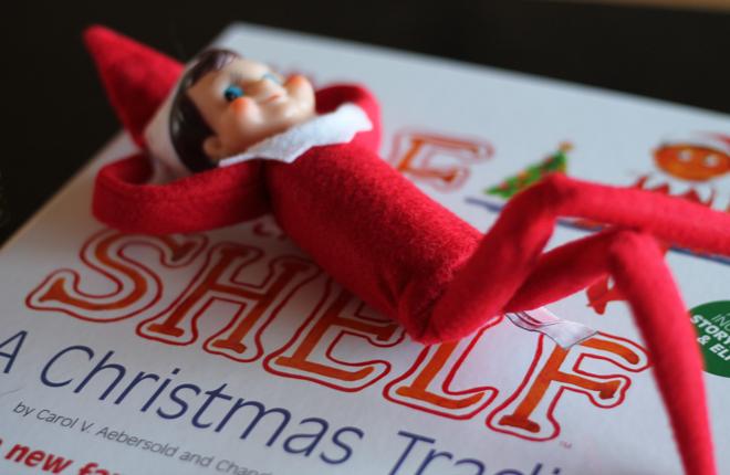 Il gioco dell'elfo birichino aspettando Natale