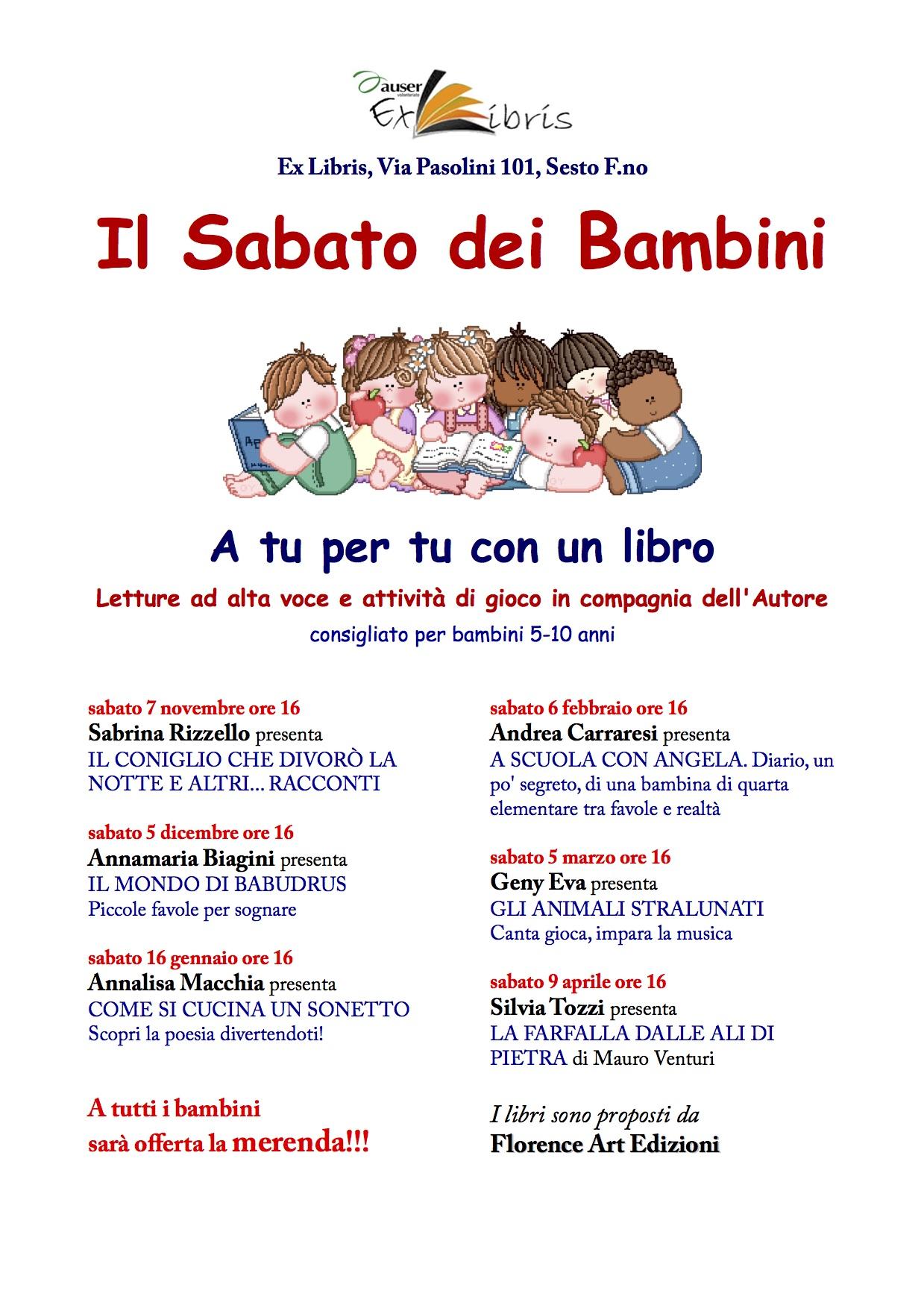 Ex libris a Sesto Fiorentino tante attività anche per bimbi