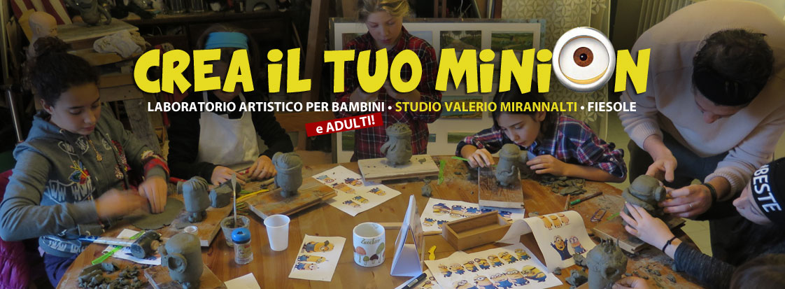 Laboratorio di creazione Minion 4 incontri!!!!