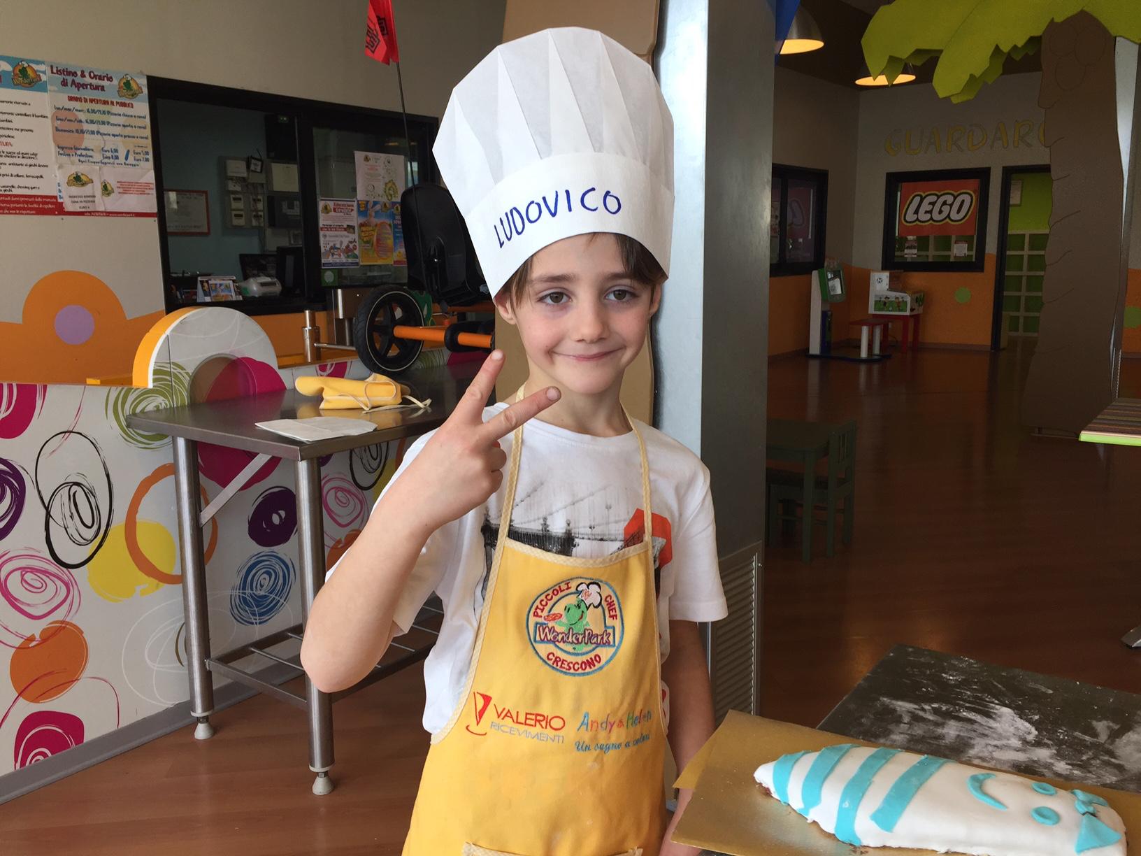 Wonderful!! Anzi WonderPark! Lezioni di cucina per bambini