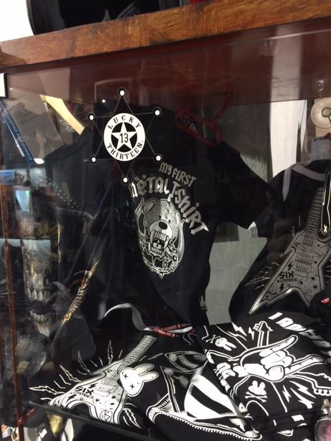 Look da giovani bikers … anche bebé da rock and biker