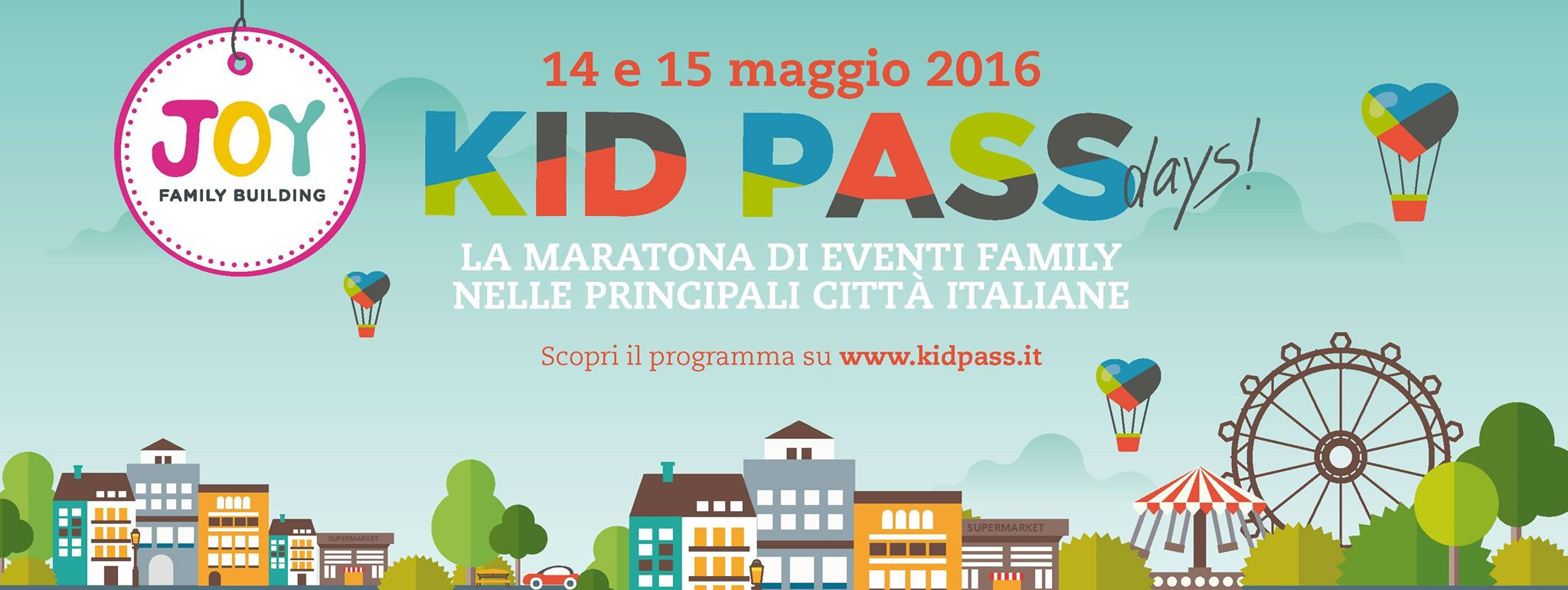 14 e 15 maggio Kid Pass Day Firenze