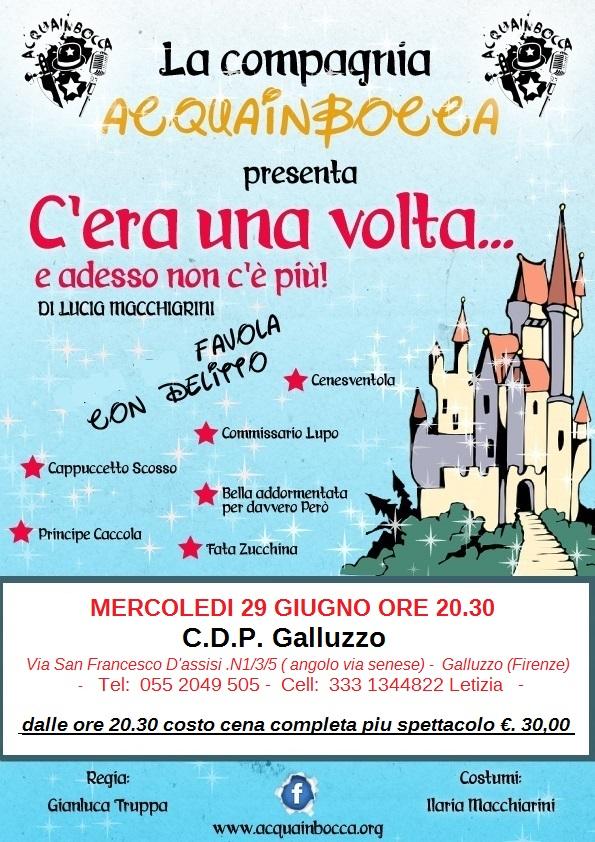Cena con delitto insieme a bambini a Firenze con AcquainBocca si può !